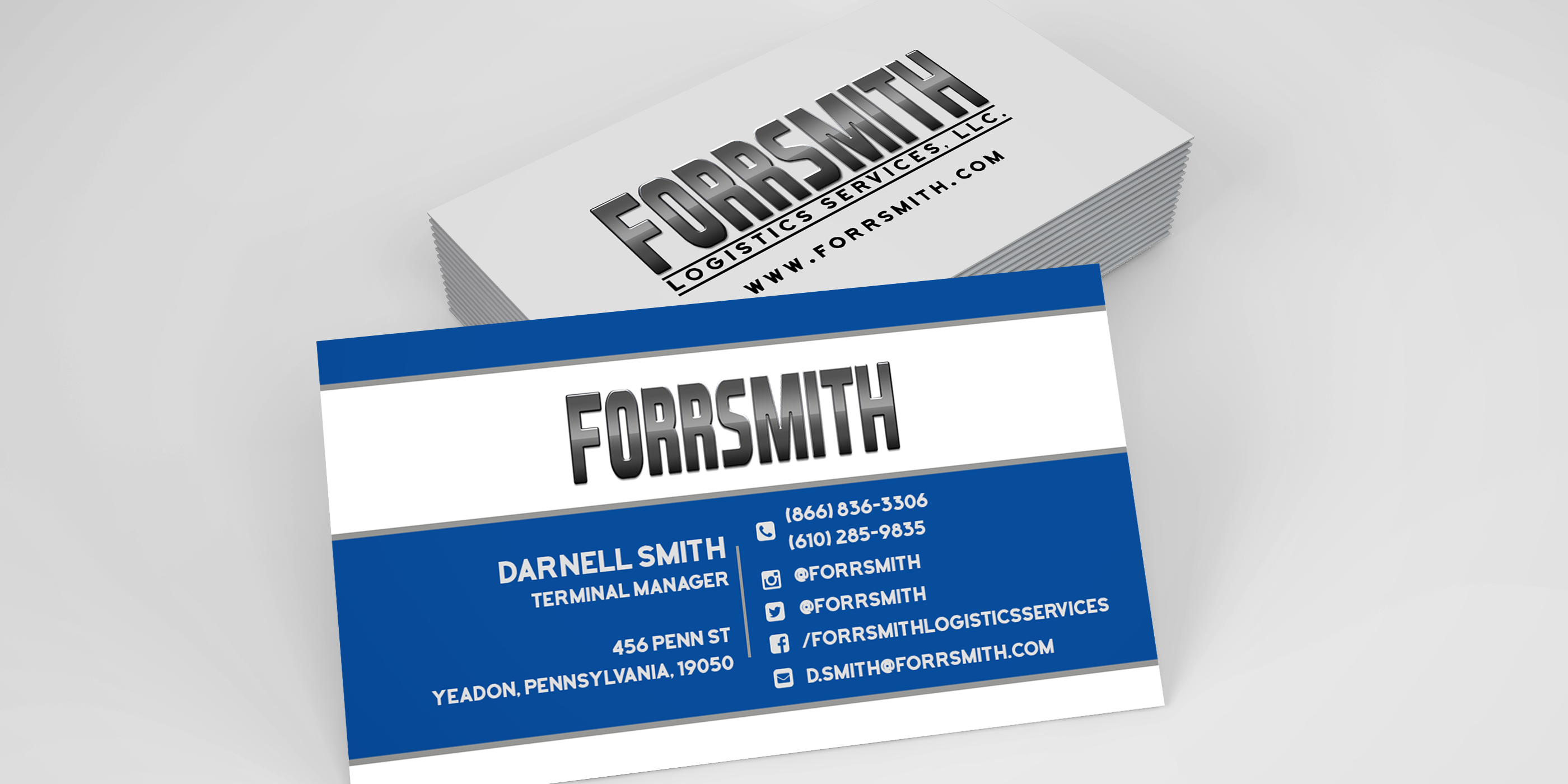 Brandingfeatured Business Card Mockup